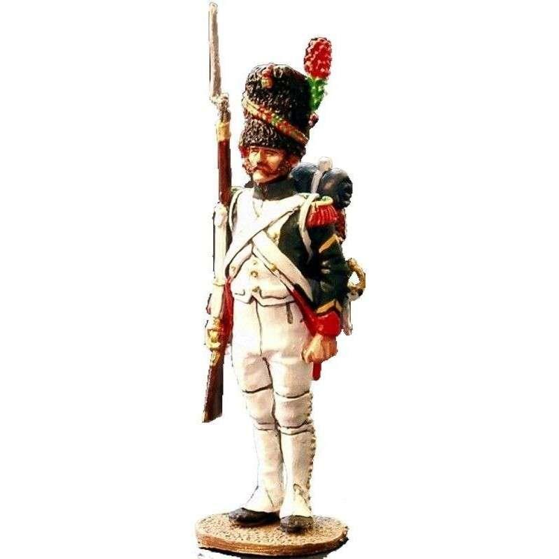 NP 069 Sargento cazadores guardia imperial francesa