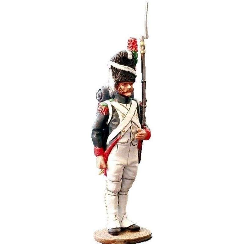 Soldado cazadores guardia imperial francesa