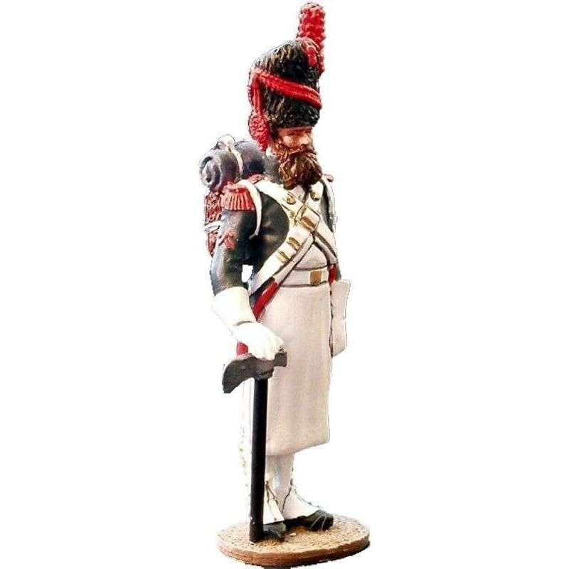 French imperial guard grenadiers sapper