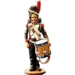 NP 072 Tambor granaderos guardia imperial francesa uniforme campaña