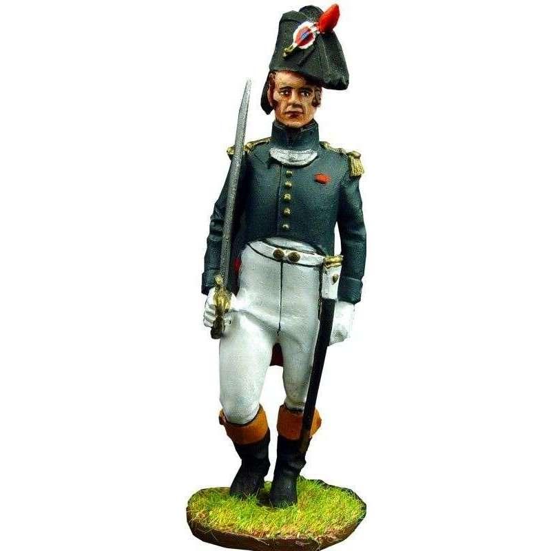 Oficial cazadores guardia imperial francesa