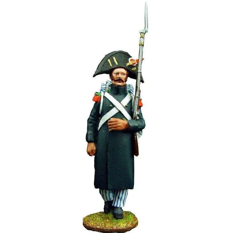 Soldado 1 cazadores guardia imperial francesa