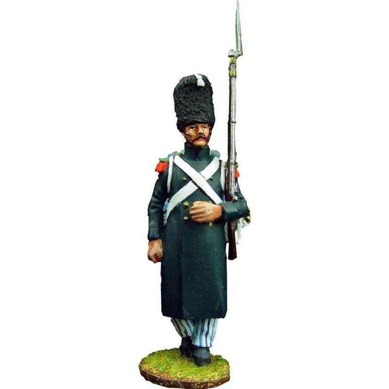 Soldado 2 cazadores guardia imperial francesa