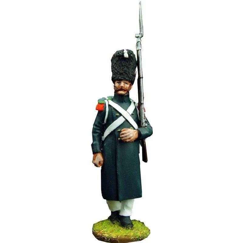 Soldado 3 cazadores guardia imperial francesa