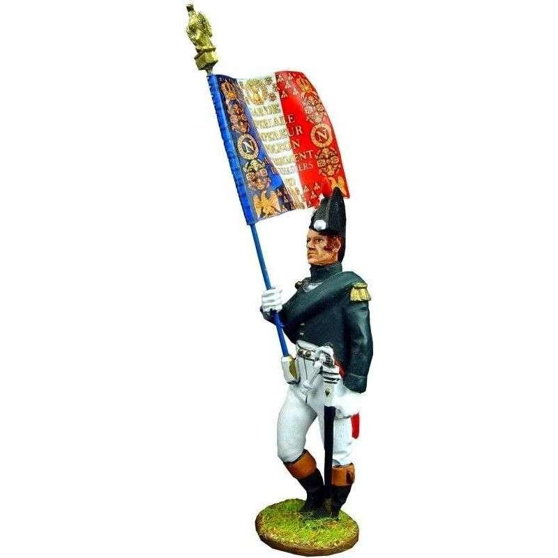 NP 127 Bandera granaderos guardia imperial francesa