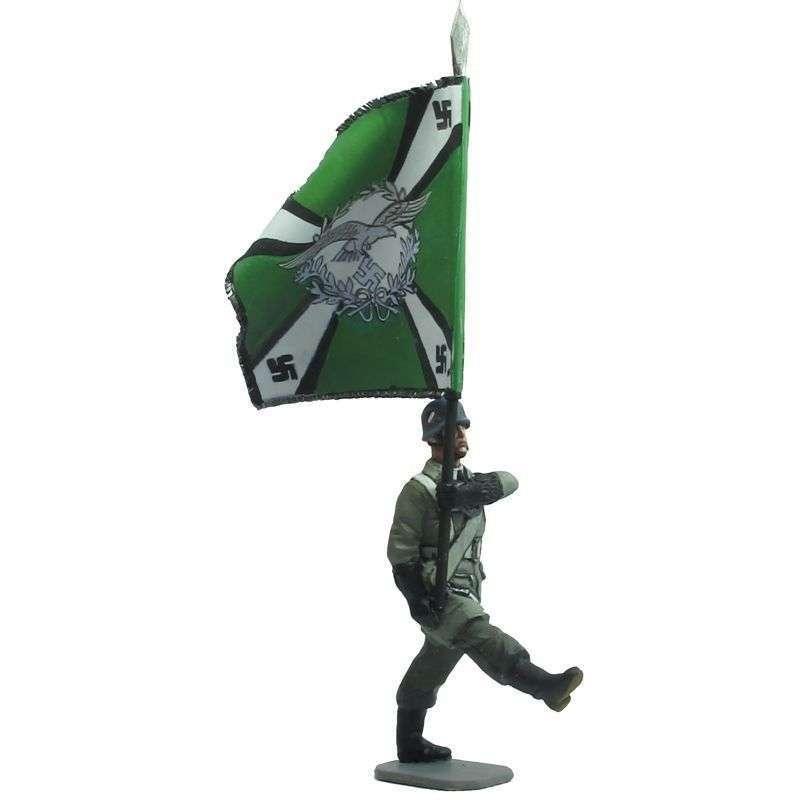 Bandera diablos verdes paracaidista Luftwaffe