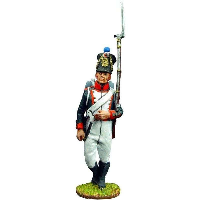Fusilero 1 infantería línea francesa 1815