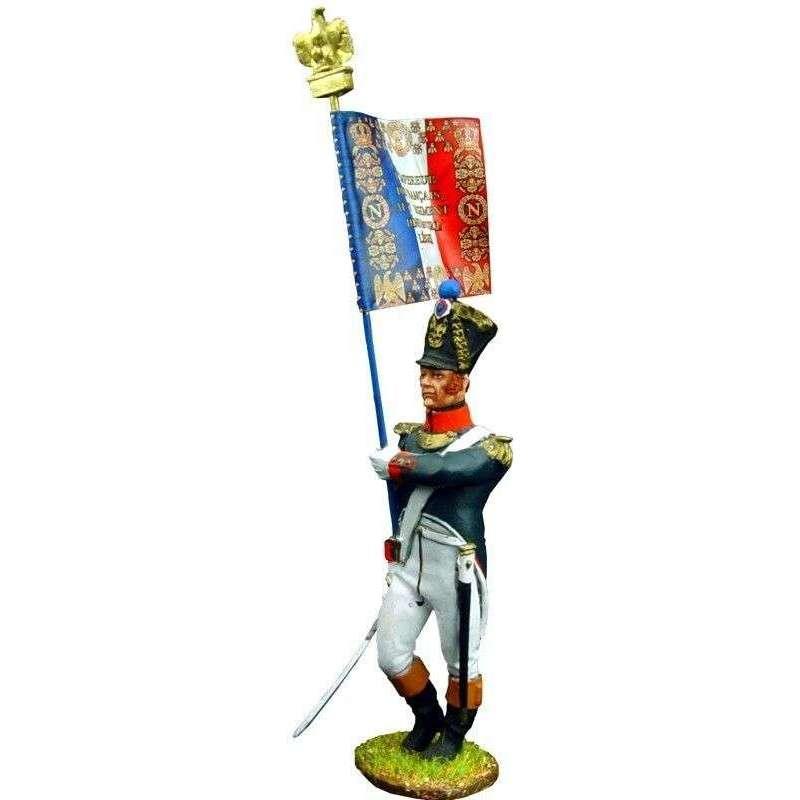 NP 144 Bandera infantería línea francesa 1815