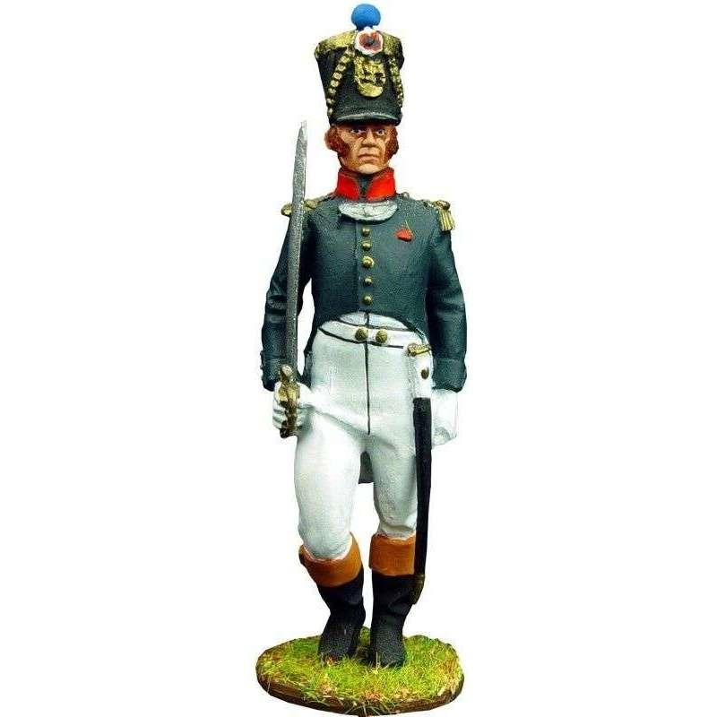 Oficial infantería línea francesa 1815