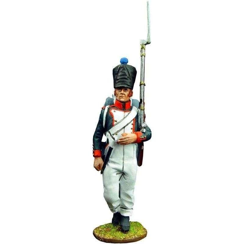 Fusilero 4 infantería línea francesa 1815