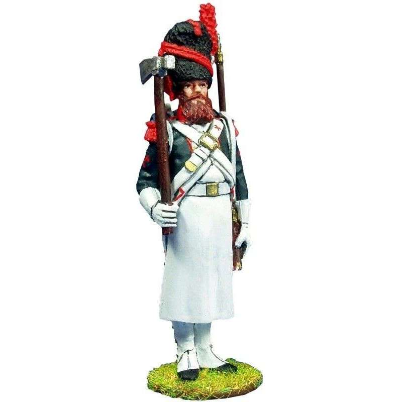 Zapador Fusilero infantería línea 1804-1805