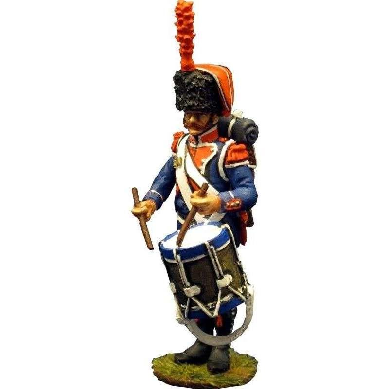 Tambor 7º regimiento infantería ligera