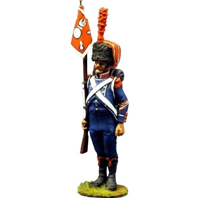 Suboficial Porta guión 7º regimiento infantería ligera