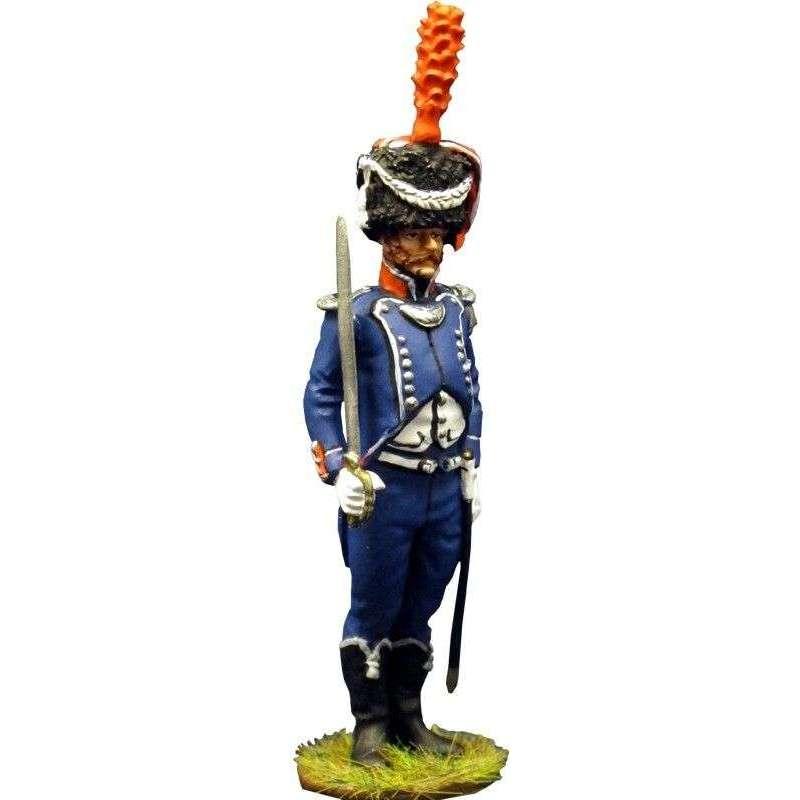 7th french light infantry officer