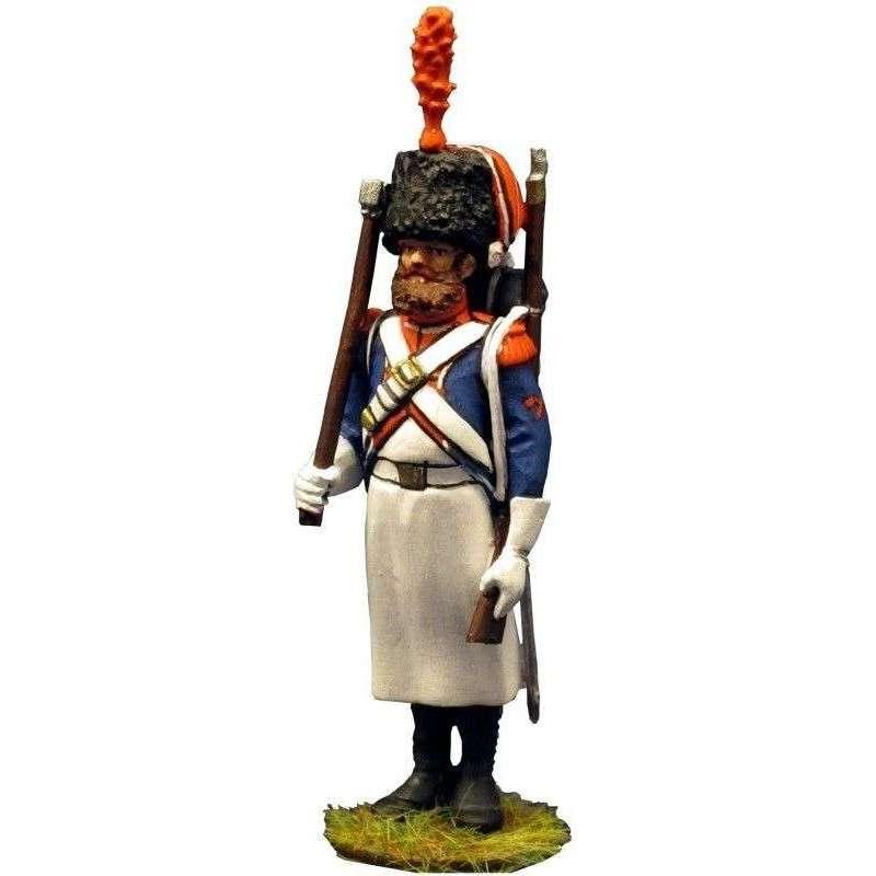 Zapador 7º regimiento infantería ligera francesa