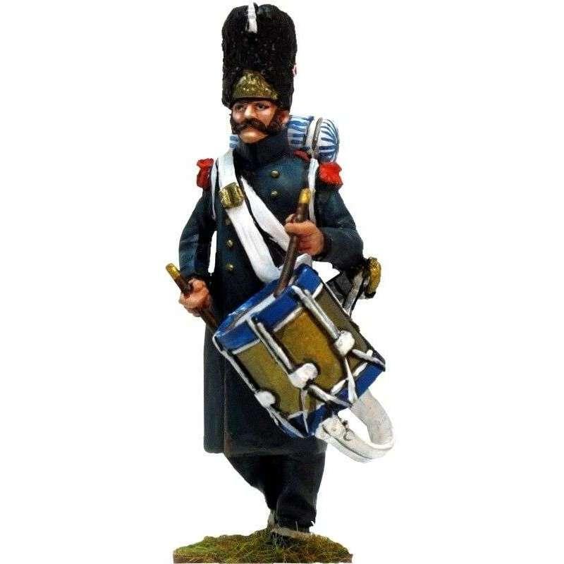 Tambor granaderos guardia imperial Waterloo