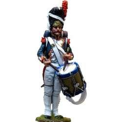 NP 244 Tambor uniforme gran gala granaderos guardia imperial francesa