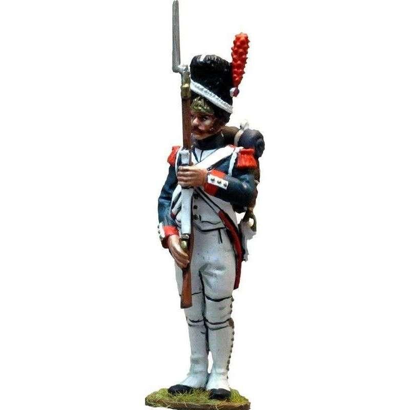 Granadero uniforme gala guardia imperial francesa