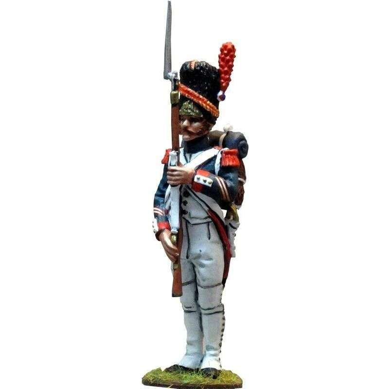 NP 246 Sargento uniforme gala guardia imperial francesa