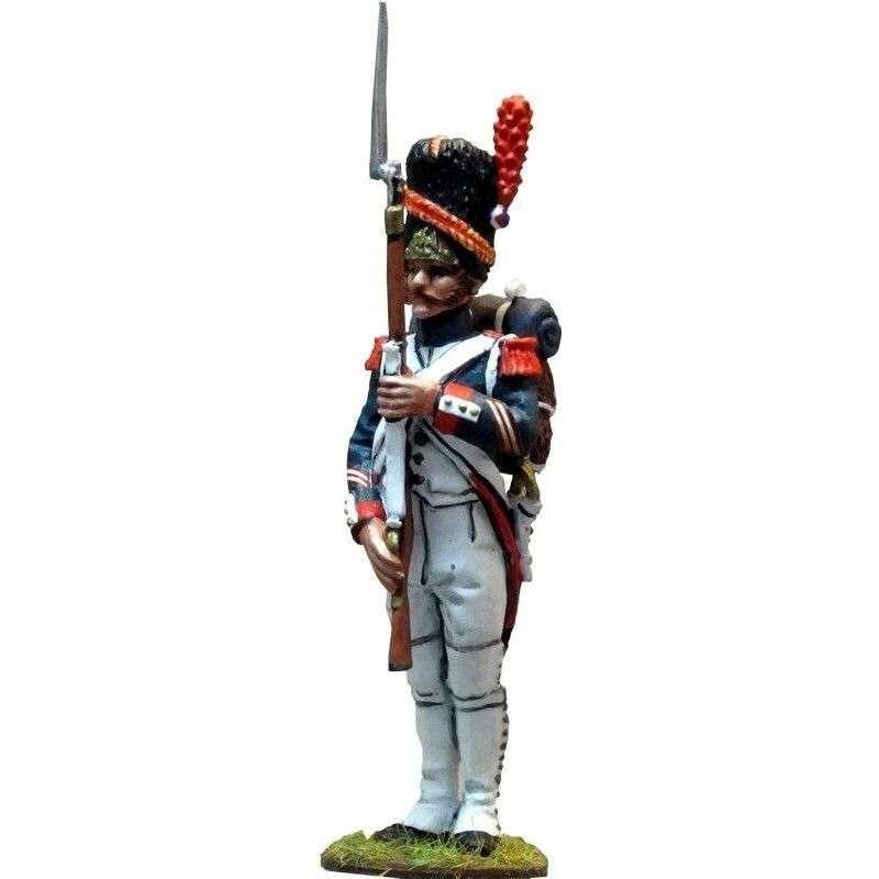 Sargento uniforme gala guardia imperial francesa