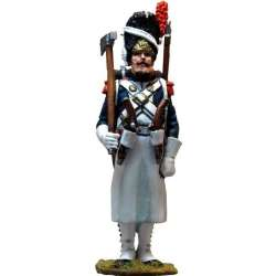 French imperial guard grenadiers sapper full dress