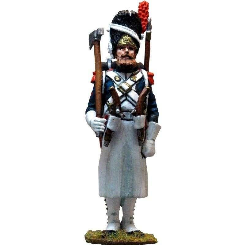 Zapador uniforme gala granaderos guardia imperial francesa