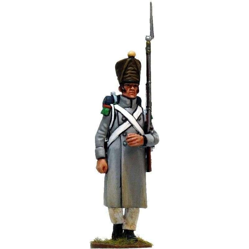 NP 258 Soldado con capote 1 Voltigeur línea