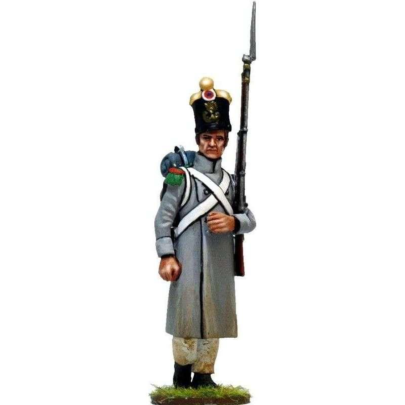 Soldado voltigeur línea abrigo 2
