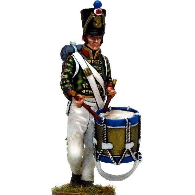 Tambor fusileros línea Waterloo