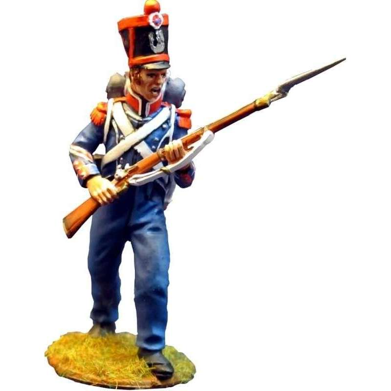 French light infantry carabiniers 1815 standing 1