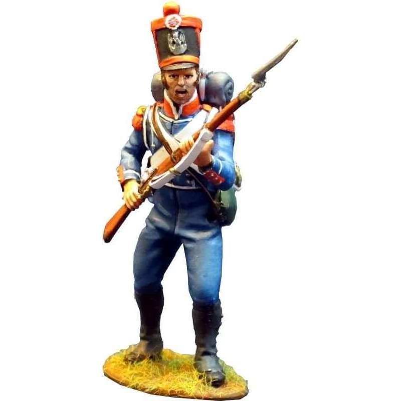 NP 300 Carabinero infantería ligera francesa 1815 de pie 2