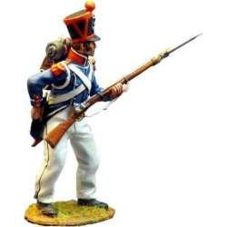 Carabinero infantería ligera francesa 1815 recargando 1