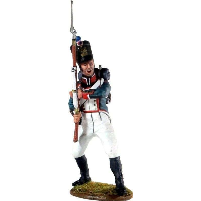 Fusilero infantería línea francés de pie 2