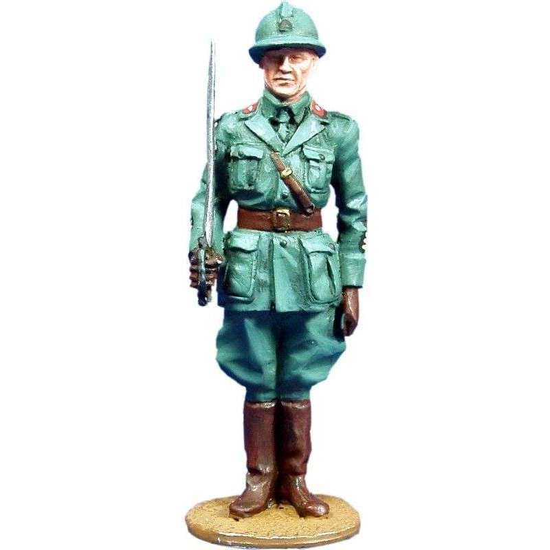 Oficial infantería italiano 1938