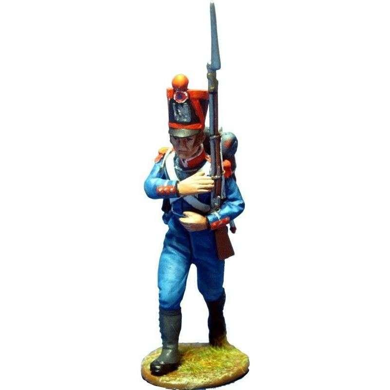 Infantería ligera 1815 avanzando