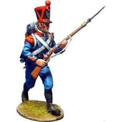 NP 343 toy soldier infantería ligera 1815 avanzando 2