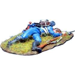 NP 345 toy soldier light infantry 1815 wounded