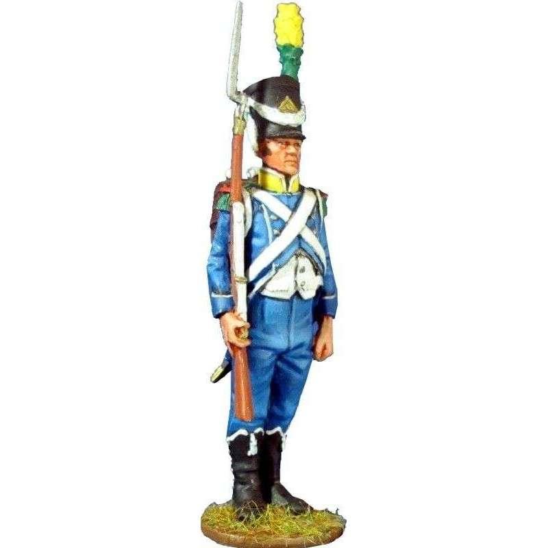 Sargento Voltigeur 9º regimiento infantería ligera 1805
