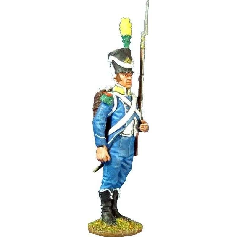 Soldado voltigeur 9º regimiento infantería ligera 1805
