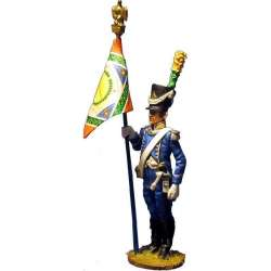 NP 361 toy soldier voltigeur 9th light infantry 1805 standard bearer