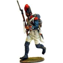 French line infantry grenadier 1805 running