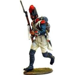 Granadero infantería línea francesa 1805 corriendo