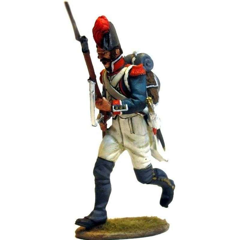 French line infantry grenadier 1805 running