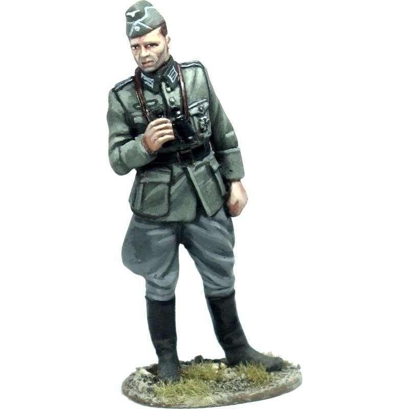 Oficial artillería alemán