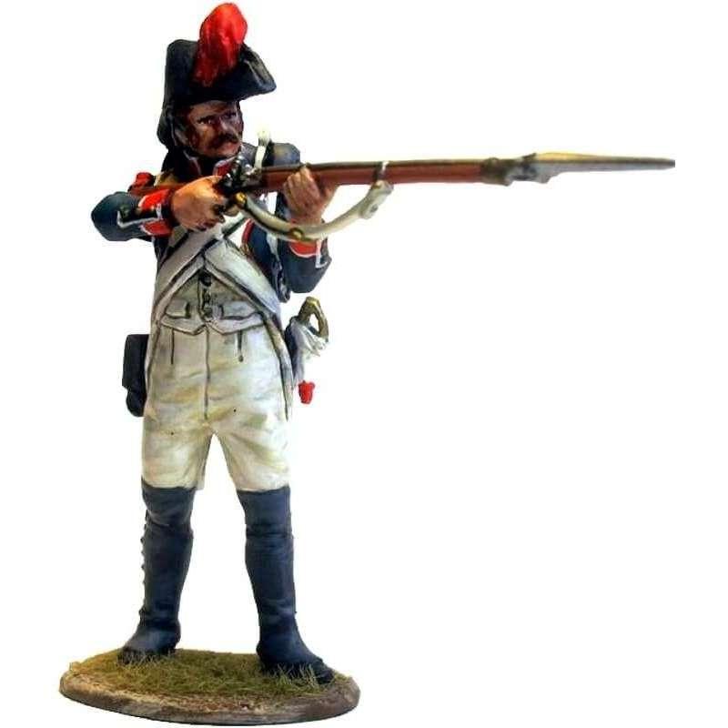 French line infantry grenadier 1805 standing firing
