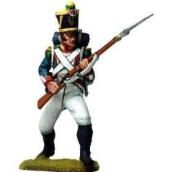 NP 574 Voltigeur infantería línea francesa 1815 arrodillado 2