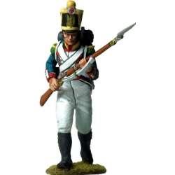 NP 576 toy soldier voltigeur 4 infantería línea 1815