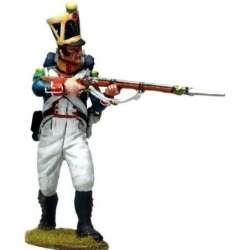 NP 586 toy soldier line voltigeurs kneeling 9