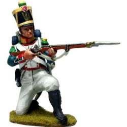 NP 587 toy soldier line voltigeurs kneeling 10