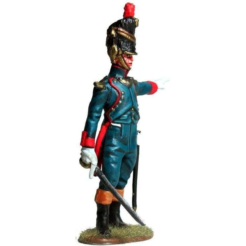 French imperial guard foot artillery officer